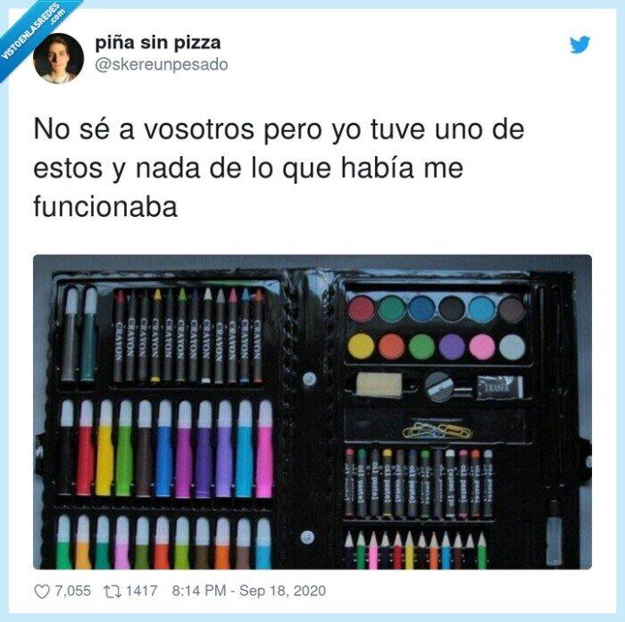 colores,funcionar,material escolar