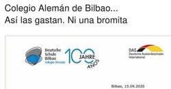 Enlace a La gente aplaude las normas del colegio alemán de Bilbao para los que se salten las normas covid, por @NievesBolado