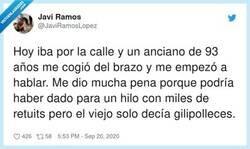 Enlace a La gente mayor ya no respeta nada nuestro afán de buscar notoriedad en redes sociales, por @JaviRamosLopez