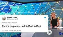 Enlace a Antena3 Noticias la lía máximo al anunciar el número de contagiados como si fuera el bote de un programa de televisión y provoca el tremendo troleo de Twitter