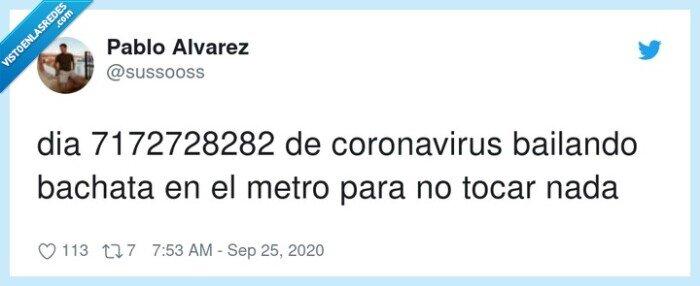 bachata,coronavirus,metro