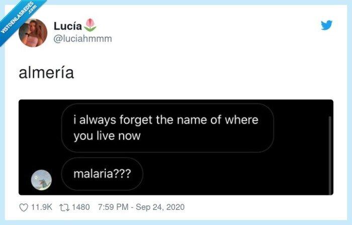 almería,malaria
