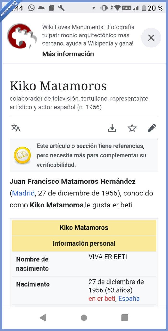 697290 - Pues no sabía esto de Kiko Matamoros