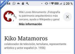 Enlace a Pues no sabía esto de Kiko Matamoros