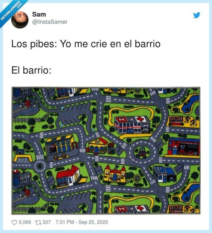 barrio,criar,pibes