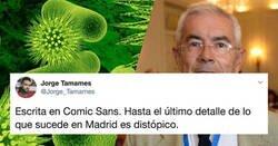 Enlace a Cachondeo por la carta de dimisión del portavoz del grupo covid en Madrid