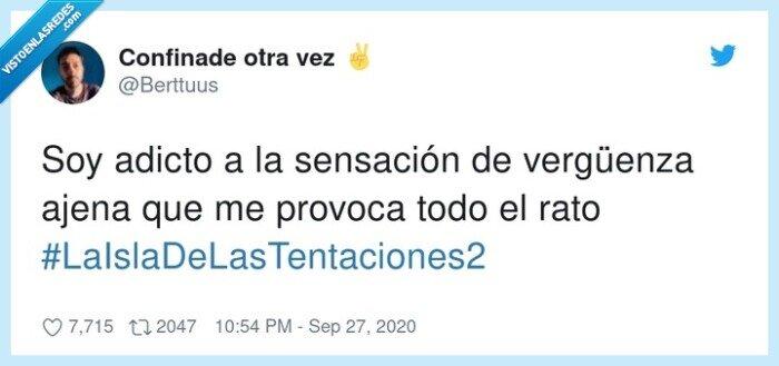 #laisladelastentaciones2,ajena,provoca,sensación,vergüenza