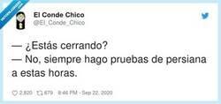 Enlace a Os dejamos una buena respuesta para todos aquellos que tenéis que cerrar establecimientos en vuestro trabajo, por @El_Conde_Chico