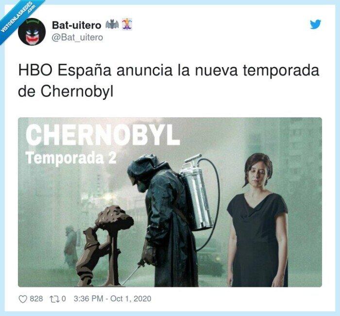 ayuso,chernobyl,hbo,segunda,temporada