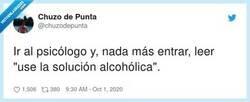Enlace a Pues nada, esta noche dos botellitas de ron a la salud del psico  , por @chuzodepunta
