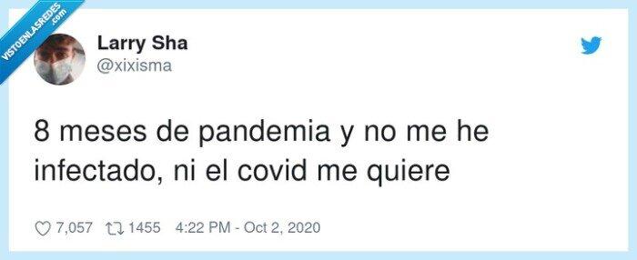 cogido,infectado,pandemia