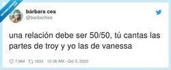 Enlace a Quien dice Vanessa dice Gabriella , por @barbarities