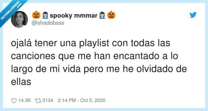 canciones,olvidado,playlist,vida