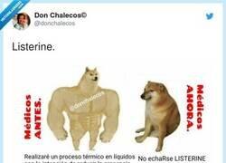 Enlace a Lo del listerine explicado con un meme, por @donchalecos