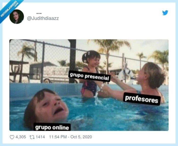 clases,grupo,online,presencial