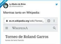 Enlace a La Wikipedia siempre tan certera, por @LaMadredeBrian