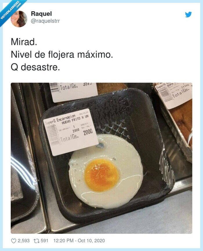 frito,huevo,plástico