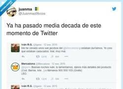 Enlace a Never forget una de las historias más míticas de Internet, por @JuanmaofArcos