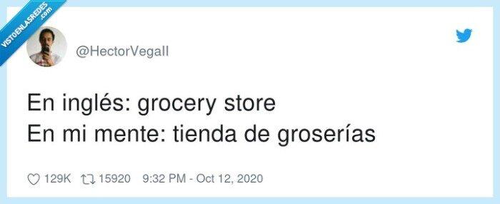 grocery,groserías,inglés,mente,store,tienda