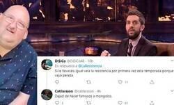 Enlace a La tajante respuesta de 'La Resistencia' sobre la presencia de 'El Dandy de Barcelona' en el programa que ha dividido a sus seguidores en Twitter