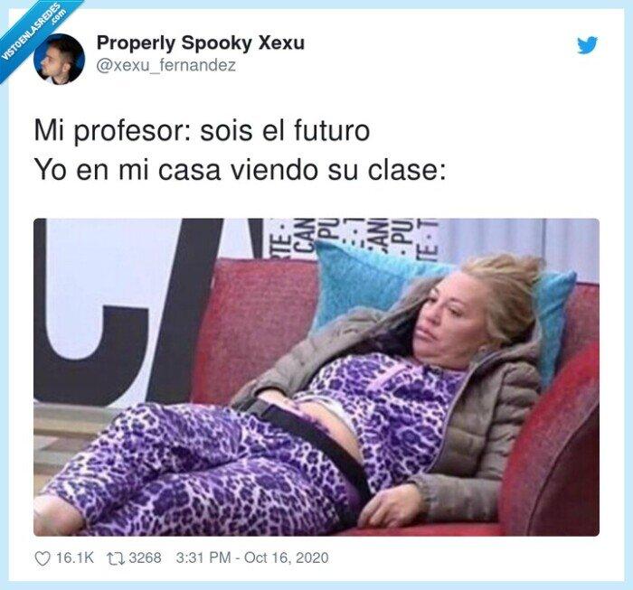 casa,clase,futuro,profesor,viendo