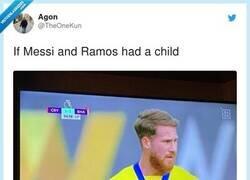Enlace a Si Messi y Ramos tuvieran un hijo, por @TheOneKun
