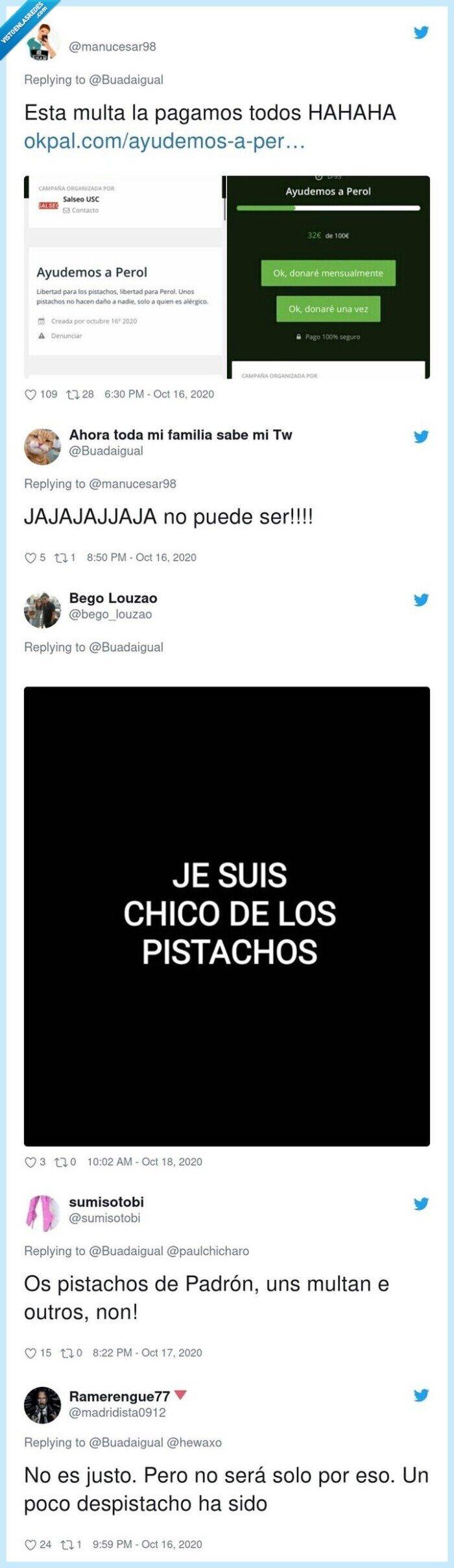 718825 - Este chaval se ha hecho viral por la multa más absurda de lo que llevamos de pandemia y Twitter se ofrece a pagársela, por @Buadaigual