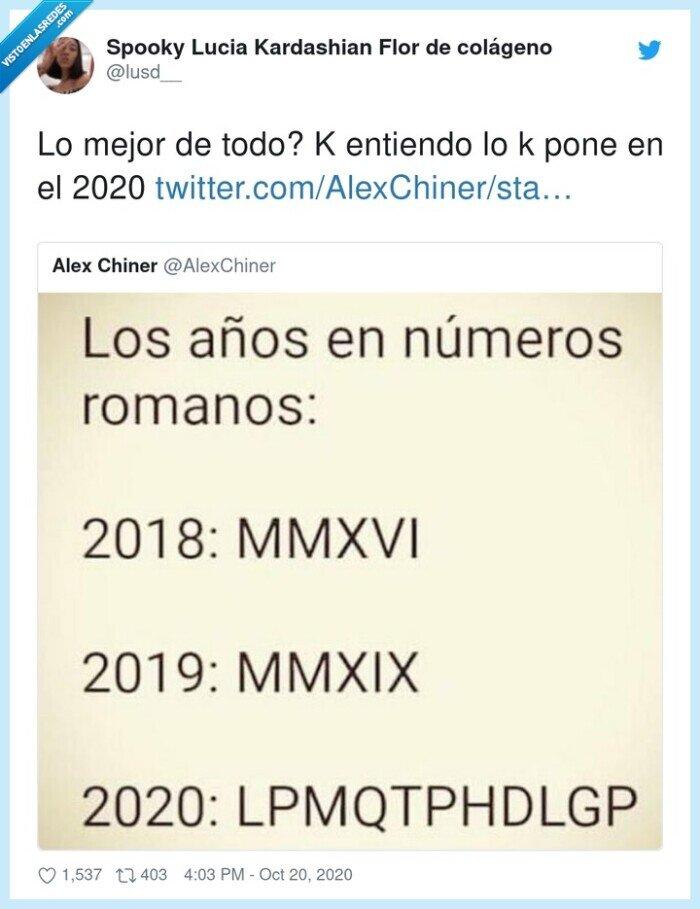 2020,números,romanos