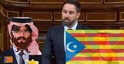 Enlace a Twitter se llena de memes gracias al momento más loco de Abascal durante la moción de censura al Gobierno