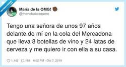 Enlace a Esa mujer es factor de riesgo, pero porque te puedes pillar un ciego con ella del copón, por @menchubasquero