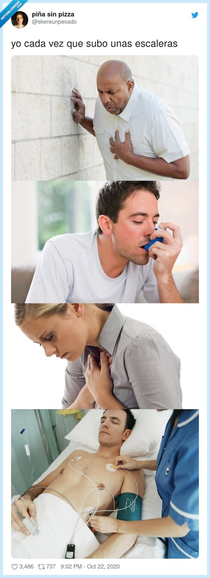 cansancio,escaleras,pulmones,respiración