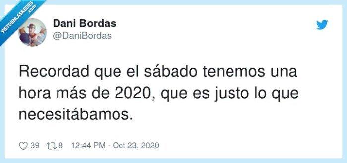 2020,cambio,hora,sábado