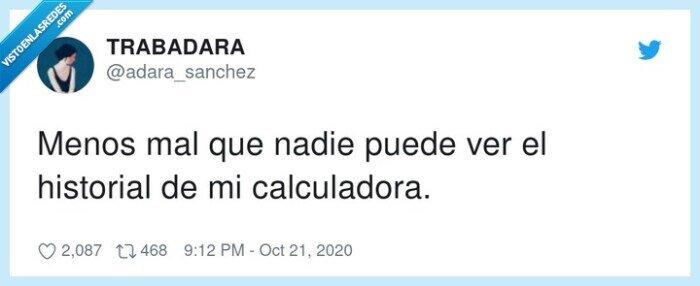 calculadora,cálculo,historial,matemáticas