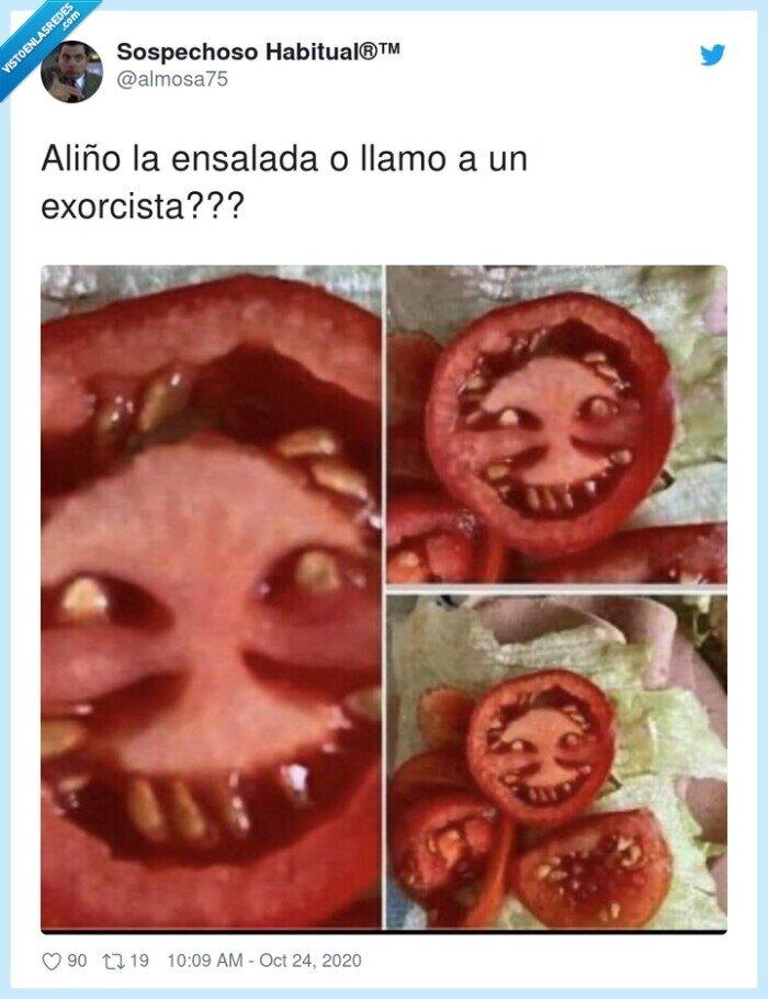 aliño,ensalada,exorcista
