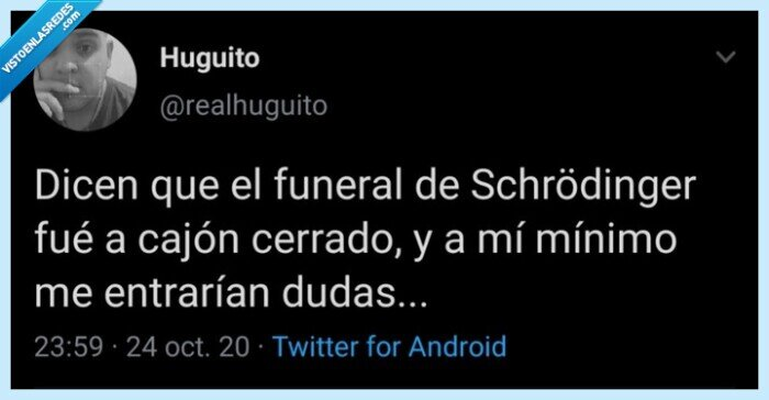 duda,funeral,gato,intriga,Schrödinger