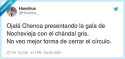 Enlace a Dura competencia para Cristina Pedroche , por @Handrius_