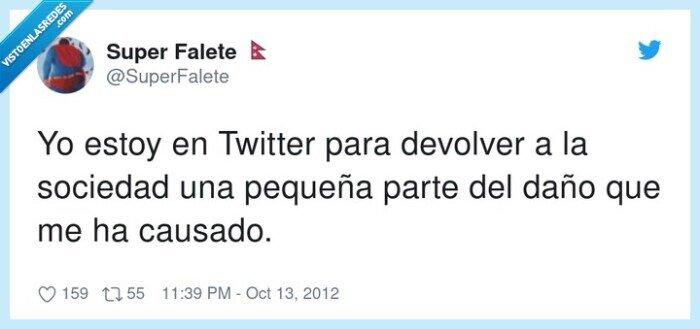 daño,sociedad,twitter