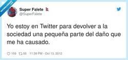Enlace a La verdadera esencia de esta red social, por @SuperFalete