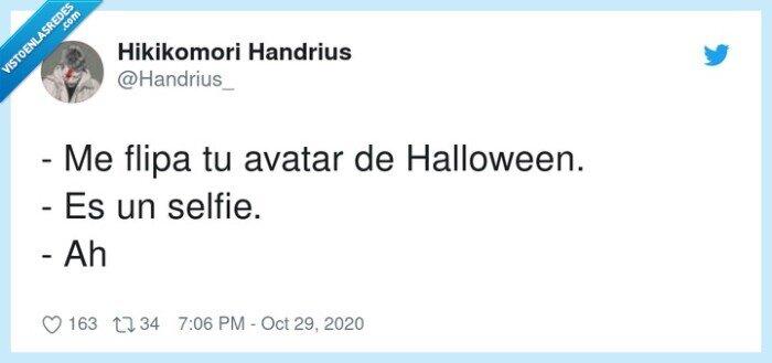 avatar,halloween,selfie