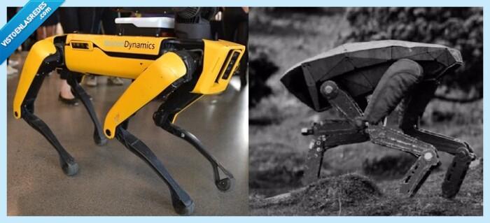 732911 - El terrorífico perro-robot de Black Mirror llega a España... para poner cervezas, por @rancio