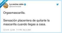 Enlace a Quitarse la mascarilla es el nuevo quitarse el sujetador, por @lavecinarubia