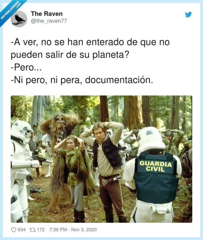 civil,documentación,enterado,guárdia,multa,planeta,star,wars
