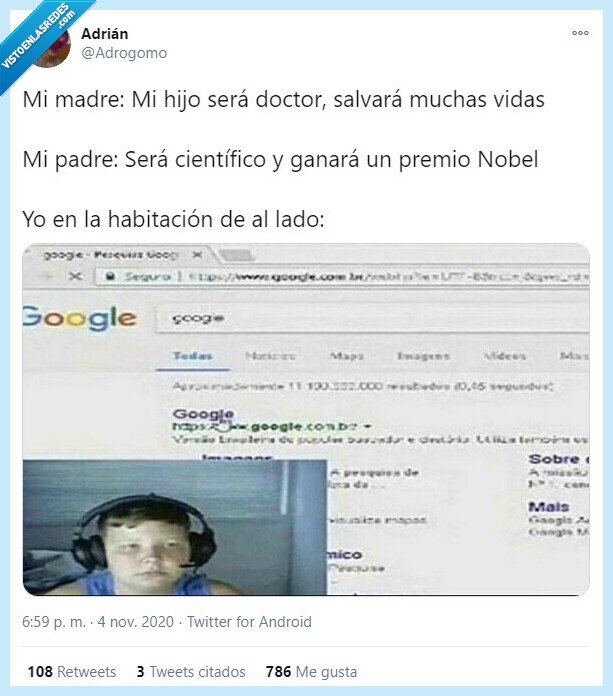 científico,doctor,google,hijo,nobel,premio
