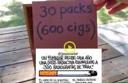 Enlace a El polémico vídeo viral para concienciarte que no fumes que ha dividido las redes por las formas en las que lo hace, por @OperadorNuclear