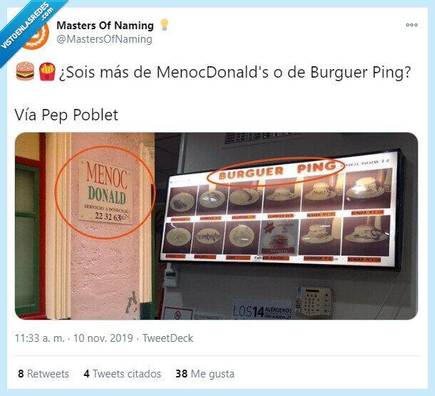 burgerking,falsos,mcdonadls