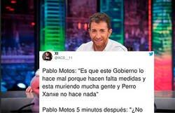 Enlace a A Pablo Motos le están moliendo a palos en redes sociales por la descarada doble moral respecto a la pandemia que demostró en el último programa del 'Hormiguero'