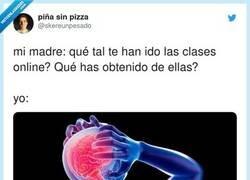 Enlace a Cuando me preguntan qué tal las clases online, por @skereunpesado