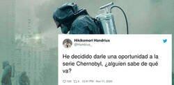 Enlace a Pregunta por Twitter de qué va la serie de Chernobyl y las respuestas son lo mejor que vas a leer hoy