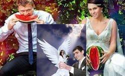Enlace a Una tuitera descubre que los reportajes de bodas rusas son una auténtica locura; fotos que se debaten entre el horror y la cutrez máxima, por @larotesmeyer
