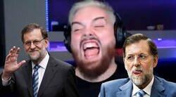 Enlace a Ibai reacciona a los Greatest Hits de Mariano Rajoy y demuestra que sería el mejor streamer del mundo si se pusiera a ello, por @IbaiLlanos